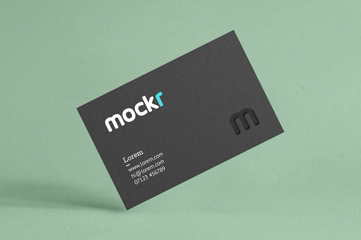 Realistic Business Card Mockup Psd ~ Product Mockups ~ Creative Market