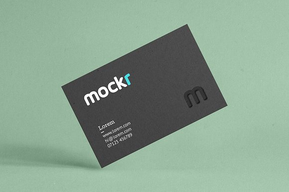 Realistic business card mockup psd product mockups creative market colourmoves
