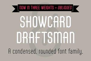 Showcard Draftsman Family