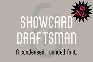 Showcard Draftsman Regular