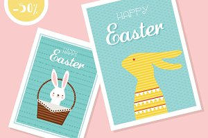 2 Easter cards- 50% off