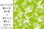 Seamless Pattern - Chinoiserie