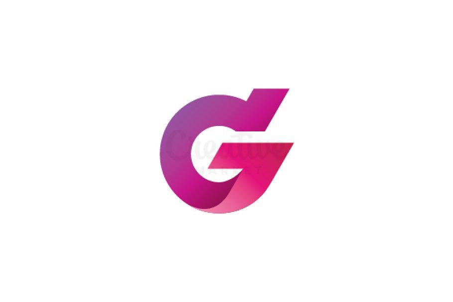 letter g logo creative illustrator templates creative market letter g logo creative illustrator