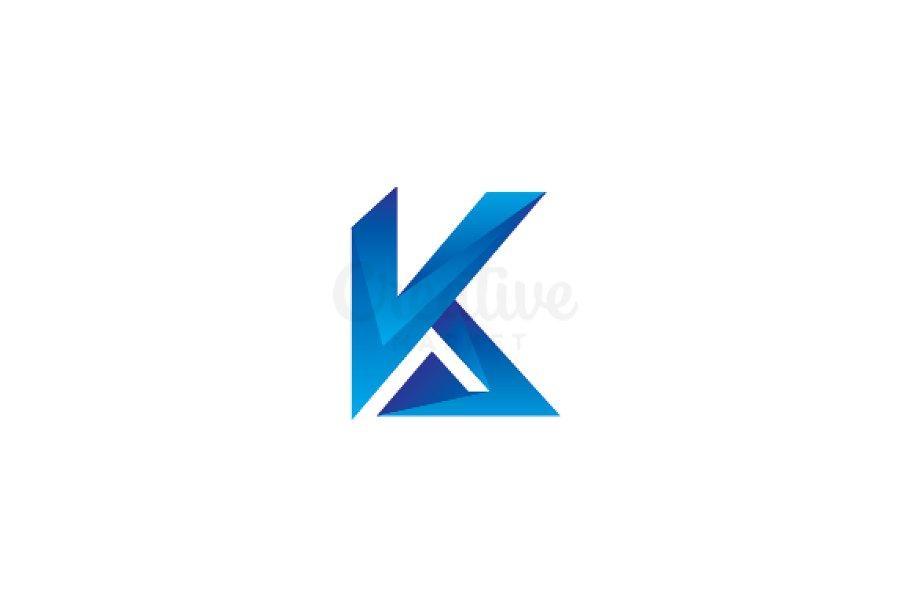Letter K Logo Logo Templates Creative Market