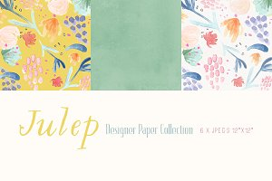 Digital Designer Papers - Julep