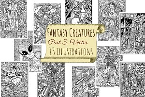 Fantasy creatures collection 3