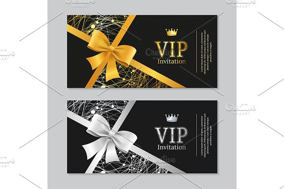 Vip invitation and card illustrations creative market stopboris Image collections