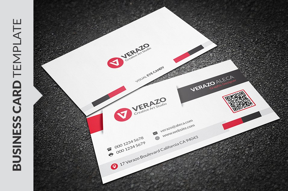 Best Qr Code Business Card Template Pictures Qr Code Business