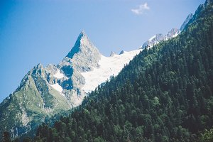 Mountain summer landscape.