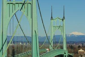 St. John's Bridge Portland, Oregon