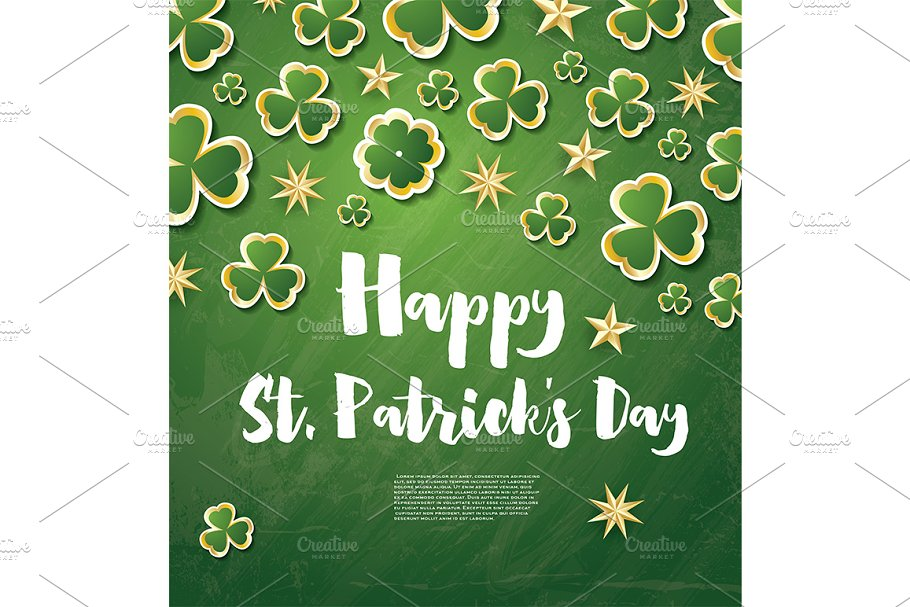 Saint Patrick's Day Background in Illustrations - product preview 8