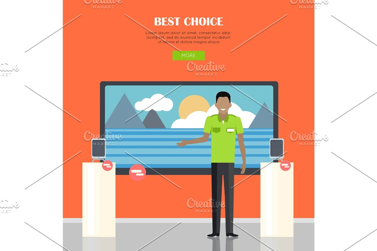 Best Choice Concept in Illustrations - product preview 8