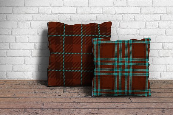 Tartan seamless vector patterns in Patterns - product preview 1