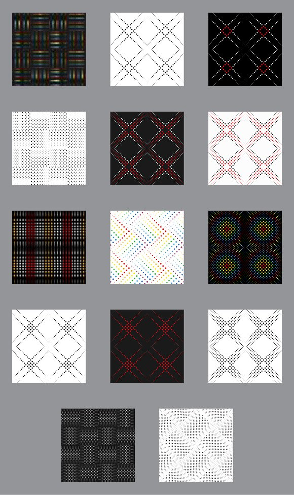 Set Dotted Line Seamless Patterns in Patterns - product preview 1