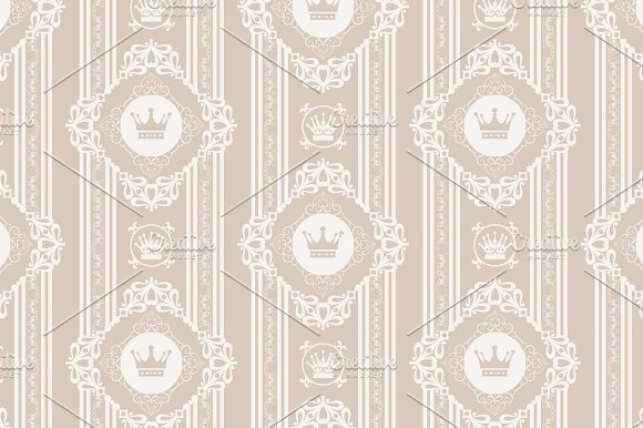 vintage pattern in Patterns - product preview 1