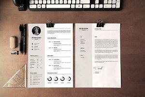 Clean Resume Template - V030