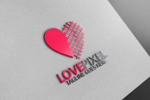 Love Pixel Logo