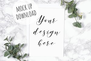 Card and Invite Styled Mockup Photo