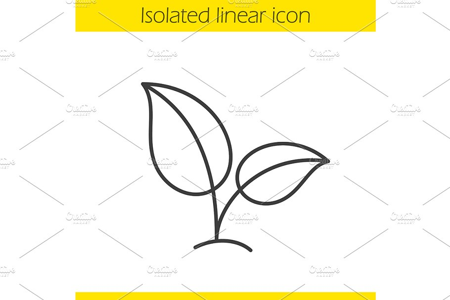 Eco icon. Vector in Graphics - product preview 8
