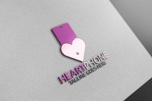 Heart Phone Logo
