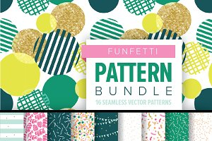 CONFETTI Pattern Bundle