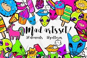 Mad Arts Set  !Promotion price!