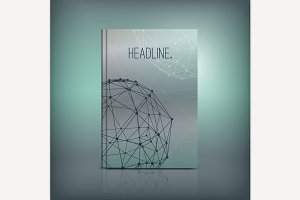 Molecule Brochure Cover Idea