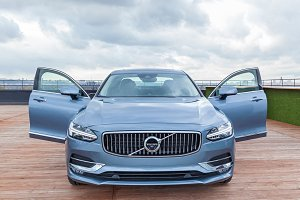 Presentation of new car Volvo S90