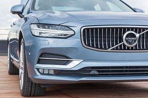 Presentation of new car Volvo S90