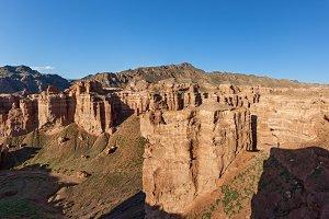 Charyn canyon in Almaty