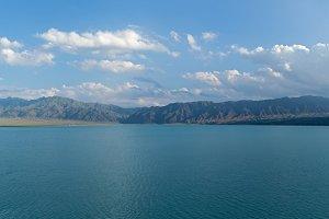 Bartogai dam on a mountain