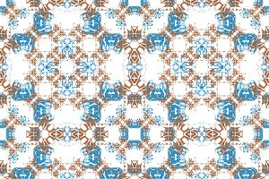 Ornate Patchwork Seamless Pattern