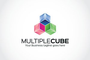 Multiple Cube Logo Template