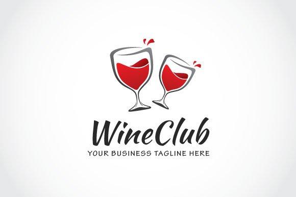 Wine Club Logo Template