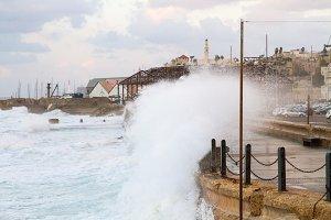 Jaffa from the sea
