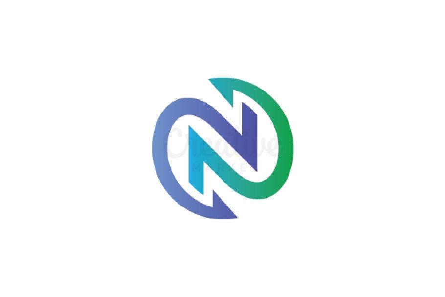 Letter N Logo Logo Templates Creative Market