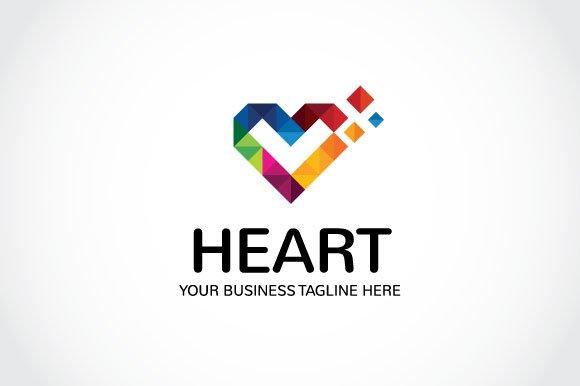 Heart Logo Template