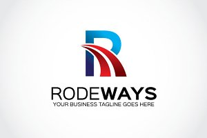 Rode Ways Logo Template