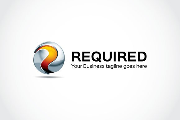 Required Logo Template in Logo Templates - product preview 1