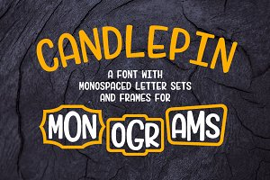 Candlepin: make fun monograms!