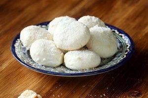 Homemade Coconut Cookies