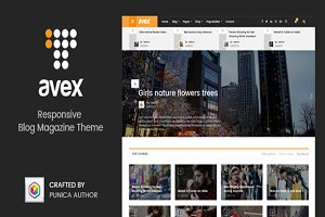 Avex - Magazine WordPress Theme