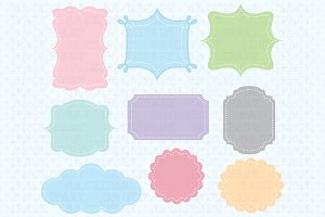 27 Digital frame ClipArt