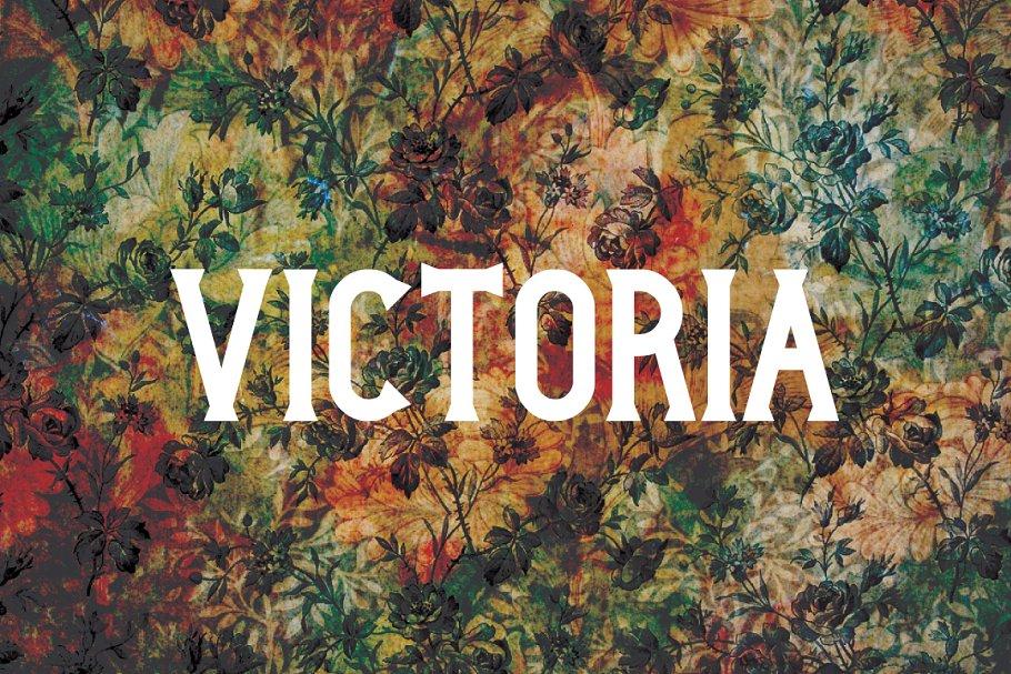 Victoria Typeface ~ Serif Fonts ~ Creative Market