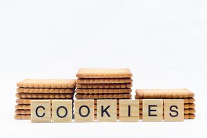 Cookies isolated on a white