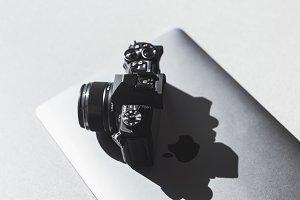 Camera on Laptop