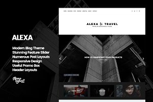 Alexa - Premium WordPress Blog Theme