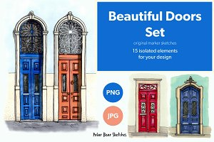 Beautiful Doors Set #1