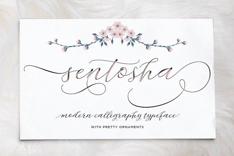 Best Sentosha Script Vector