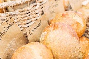 Fresh Artisanal Bread at Farmer's Ma